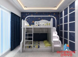A perfect bedroom for your babies.